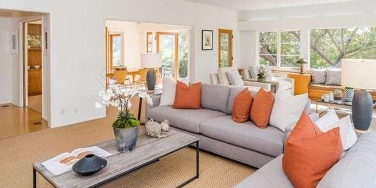 Stockard Channing's living room
