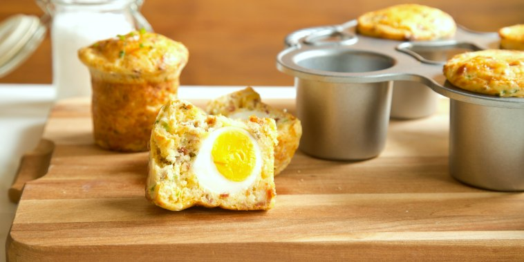TODAY Tastemaker Brandi Milloy makes her version of the Rebel breakfast muffin from San Francisco restaurant Craftsman and Wolves