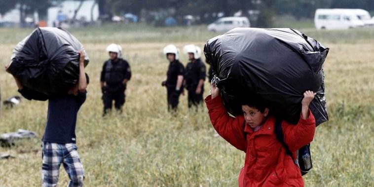 Image: GREECE-MIGRANTS-EUROPE