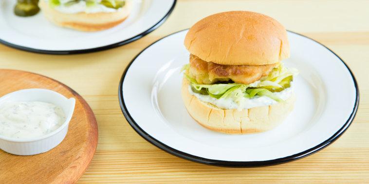 Shake Shack Chick'n Shack Sandwich