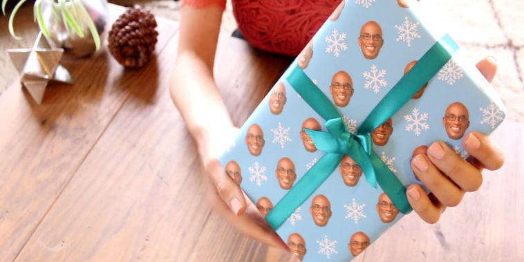 al roker wrapping paper