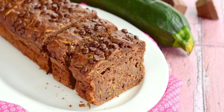 Homemade Zucchini Chocolate Chip Cake; Shutterstock ID 427231801; Purchase Order: -