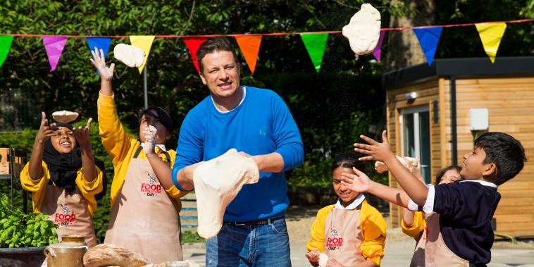 Jamie Oliver Presents Food Revolution Day