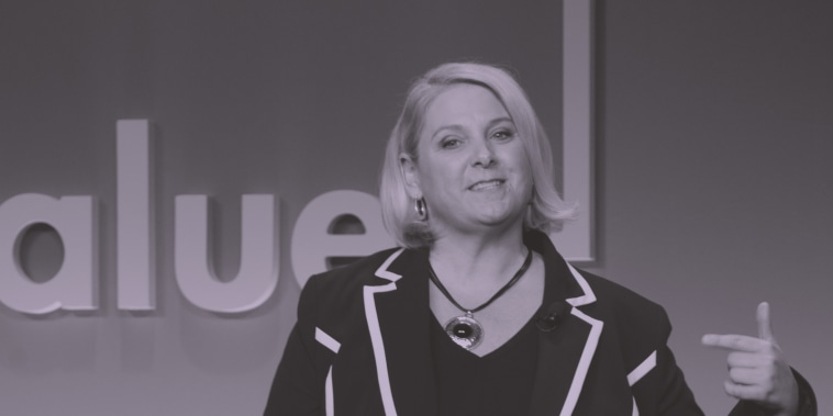 Communications expert Janine Driver at Monday's Know Your Value event in New York City.