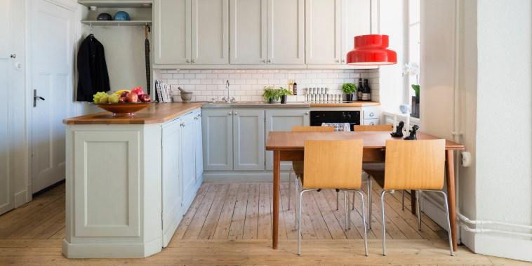 Image: Inside a kitchen