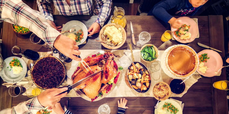 Image: Traditional Holiday Stuffed Turkey Dinner