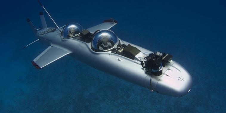 Image: Super Falcon, a personal submarine