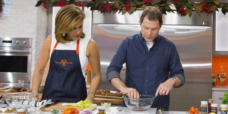 Make healthy food flavorful with Bobby Flay's skirt steak and sweet potatoes