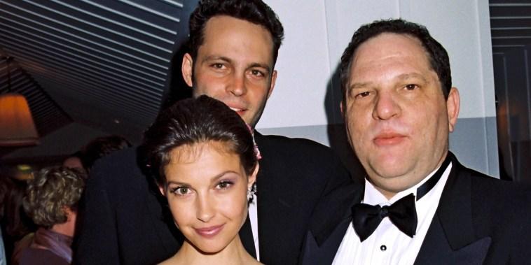 Image: Vince Vaughn, Harvey Weinstein and Ashley Judd