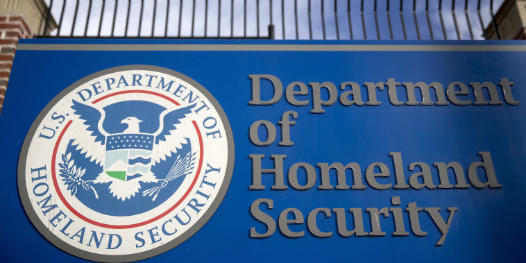 Image: Dept. Of Homeland Security