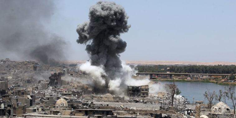 Image: Mosul Airstrike