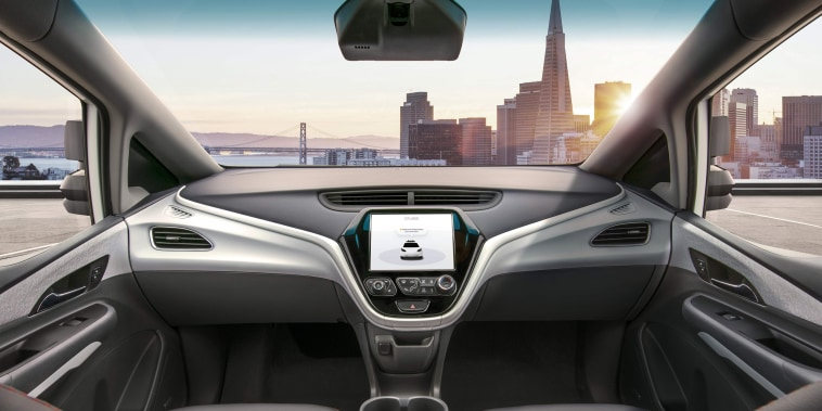 Image: US-AUTO-SHOW-TECHNOLOGY-GM