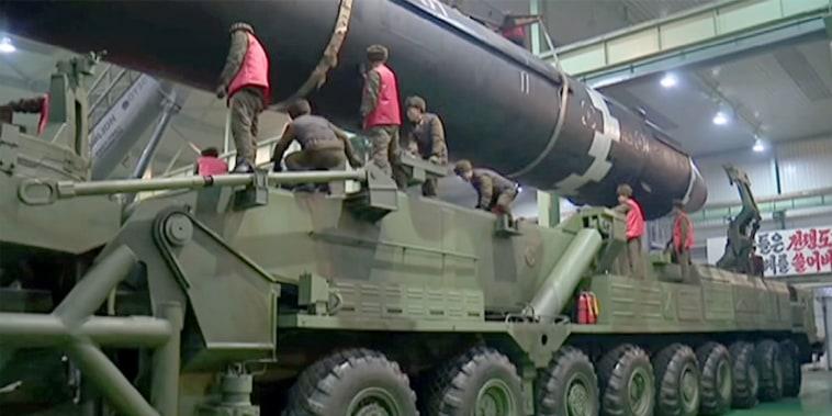 Image: North Korean missiles
