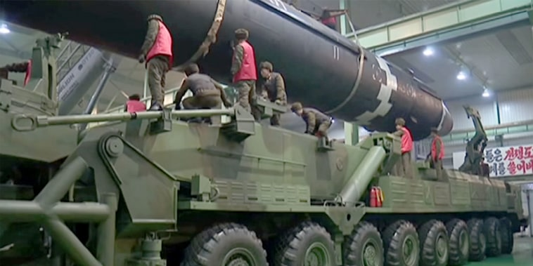 Image: North Korean missile