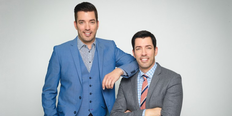 Jonathan and Drew Scott, hosts of Property Brothers