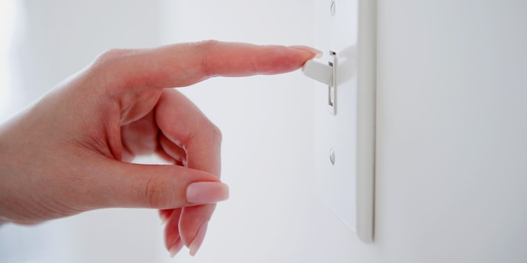 How often should you clean your light switch plates
