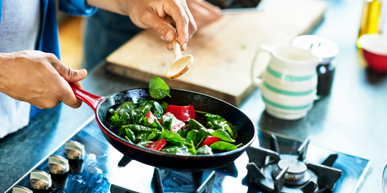 Image: Cooking vegetables