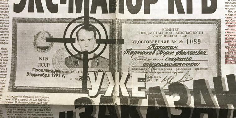 Image: Former Soviet spies