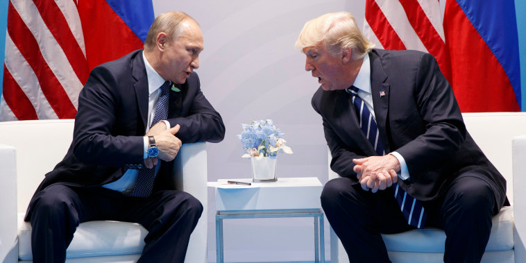 Image: Trump meets with Putin at the G20 Summit