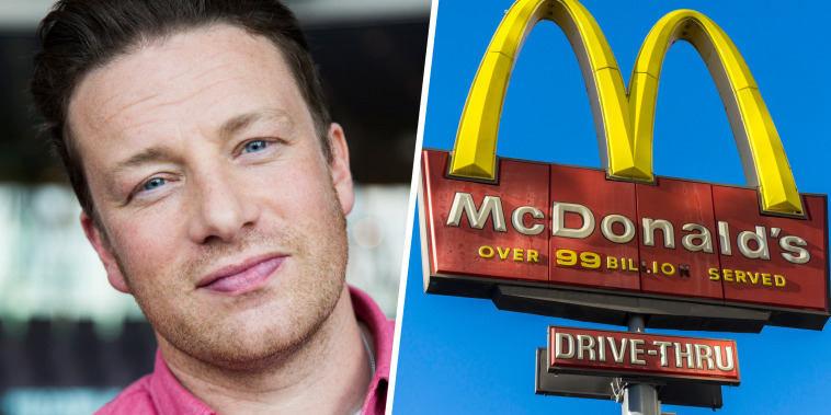 Jamie Oliver Presents Food Revolution Day / Image: McDonald's All Day Breakfast promotion boosts sales