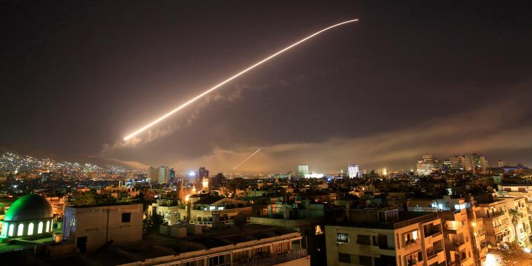 Image: US Syria missile strike