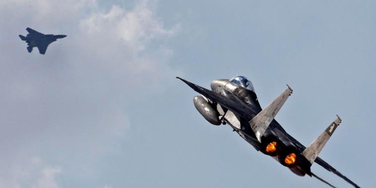 Image: Israeli F-15
