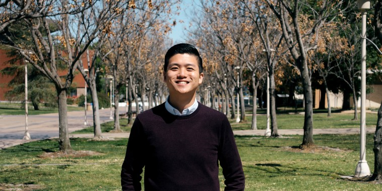 Image: Alton Wang, assistant director for AAPI Data