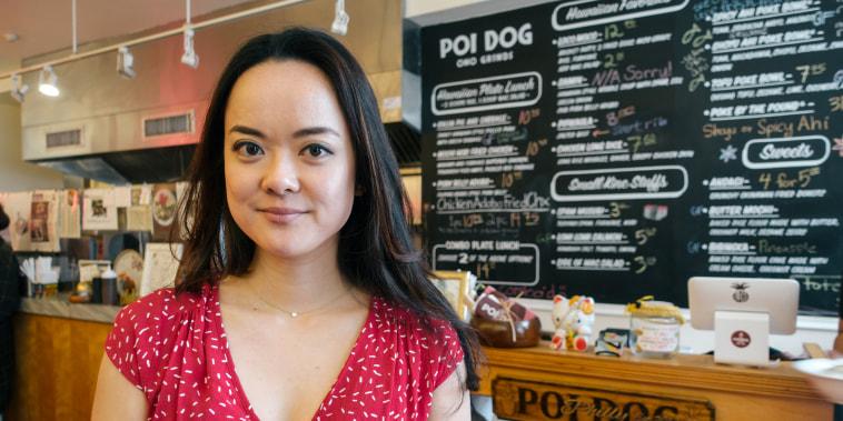 Image: Kiki Aranita, co-founder of Philadelphia restaurant Poi Dog.