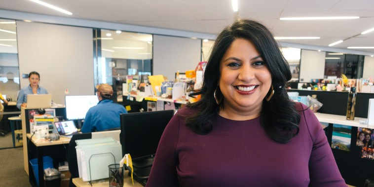 Image: Samhita Mukhopadhyay was named executive editor of Teen Vogue in February 2018.