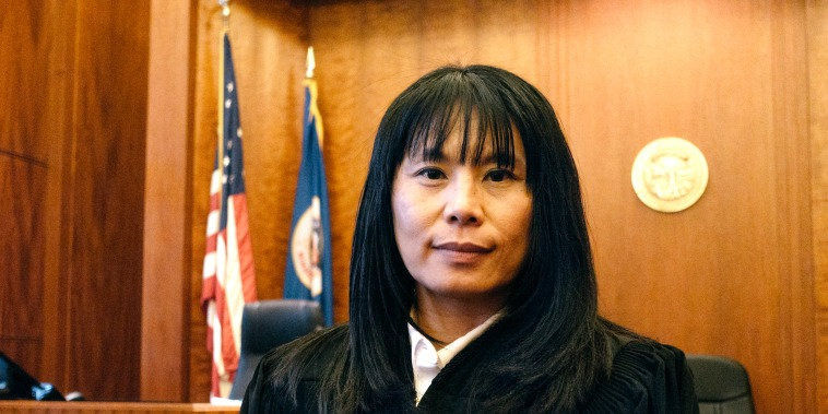 Image: Judge Sophia Vuelo is the first Hmong-American judge in the state of Minnesota.