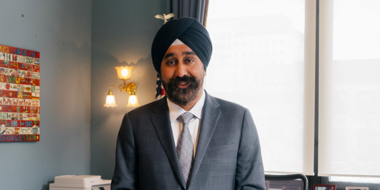 Image: Ravi Bhalla was elected as mayor of Hoboken in November 2017, becoming the first Sikh mayor of New Jersey.
