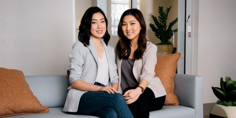 Image: Tammy Cho and Grace Choi, co-founders of BetterBrave, a nonprofit aimed at combating sexual harassment and discrimination in the workplace.