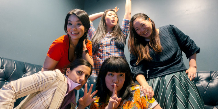 "Image: AzN PoP is a comedy group and self-proclaimed ""Asian-American K-pop parody band."""