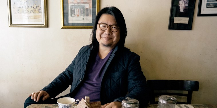 "Image: Kevin Kwan, author of ""Crazy Rich Asians,"" which was adapted for the big screen in 2018."