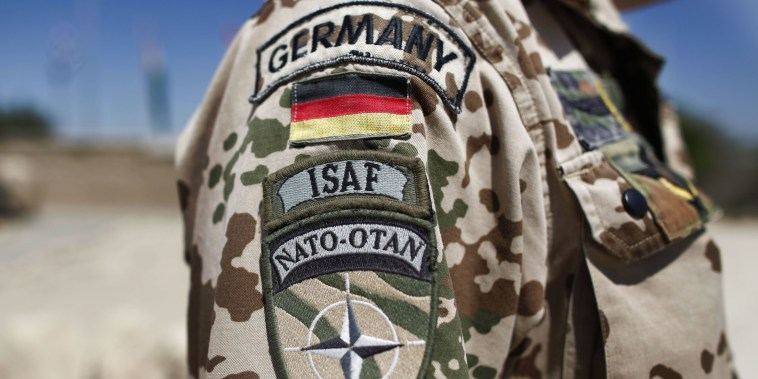 Image: German NATO soldier