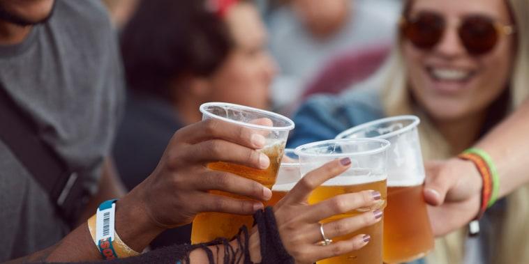Image: Teen drinking