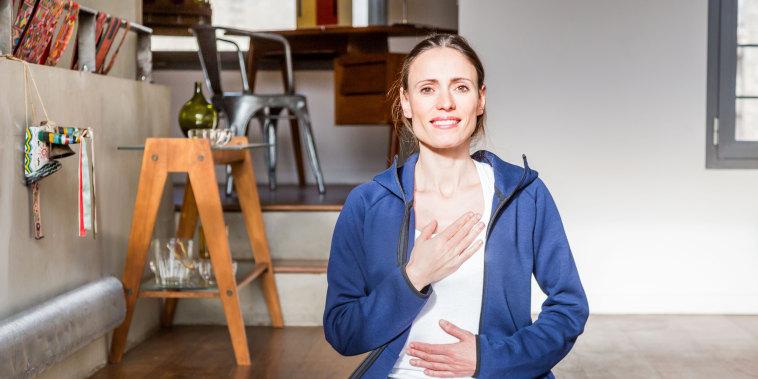 Image: Respiratory exercises