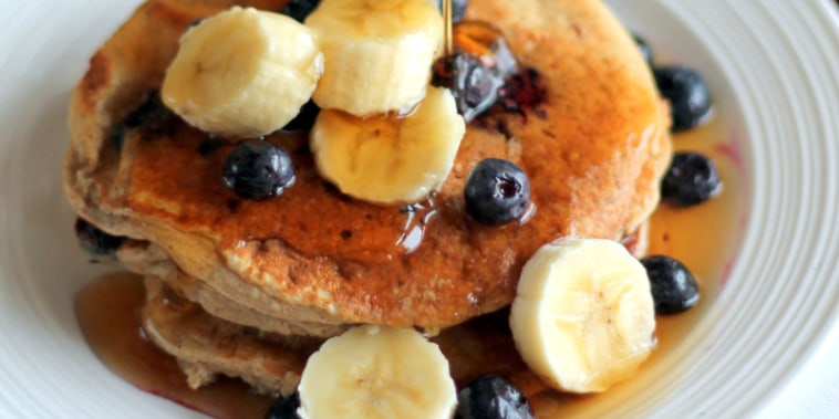 Image: Oatmeal Cottage Cheese Banana Pancakes