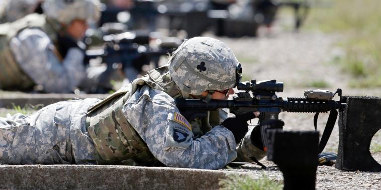 Image: women in combat