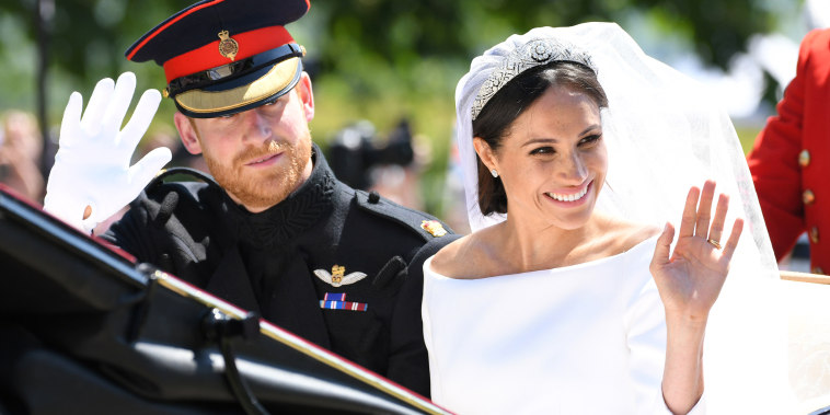 Prince Harry and Meghan leave Windsor Castle