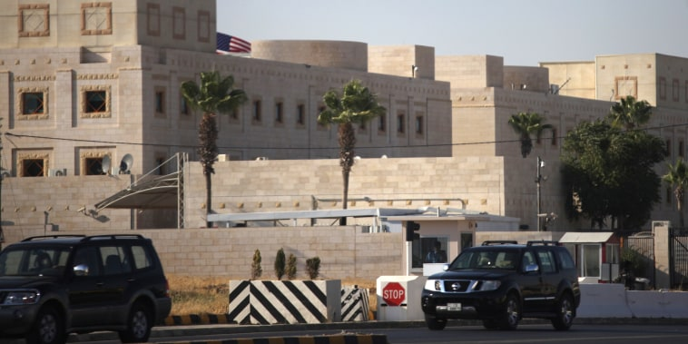 Image: The U.S. embassy in Amman