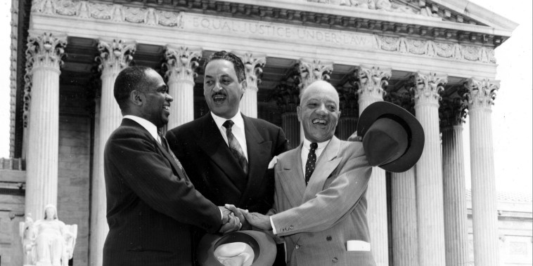 Image: George E.C. Hayes,Thurgood Marshall,James M. Nabrit