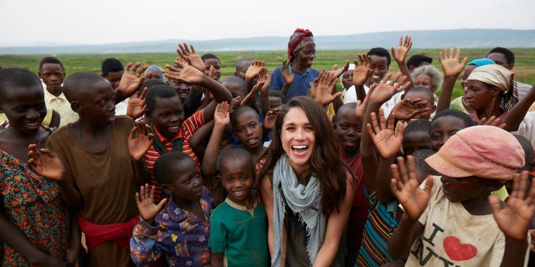 Image: Meghan Markle in Rwanda