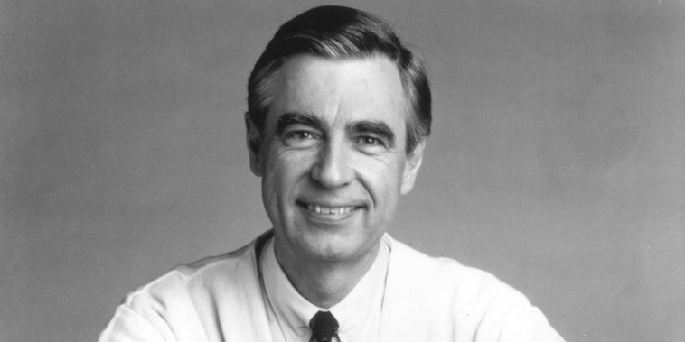 Image: Fred Rogers The Host Of The Children's Television Series Mr Rogers' Neig