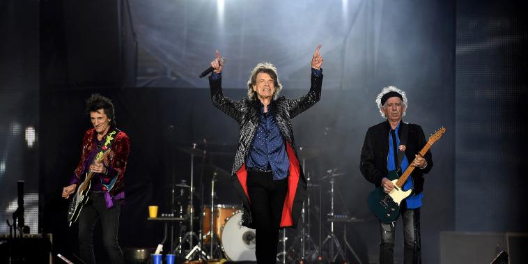 Image: The Rolling Stones perform in Dublin