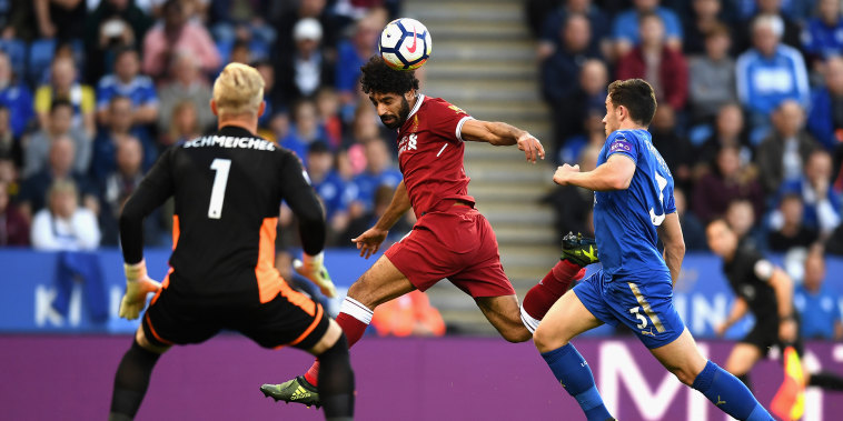 Image: Mohammad Salah of Liverpool