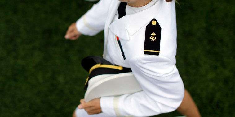 Image: Graduating Midshipman