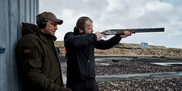 Image: Iceland Gun Tests