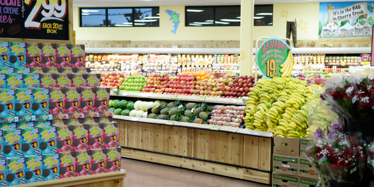 Image: Trader Joe's is ready for its grand opening, Feb. 14, 2014.