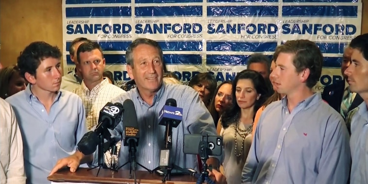 South Carolina Republican Rep. Mark Sanford
